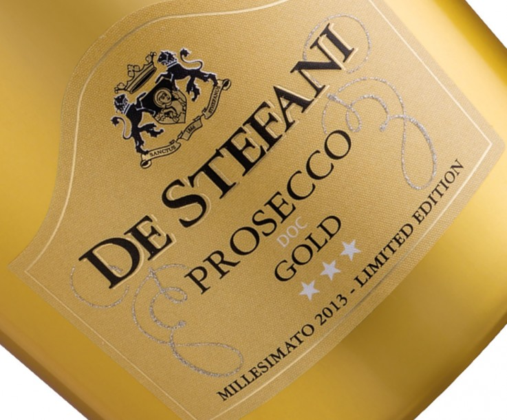 New Prosecco Gold Millesimato